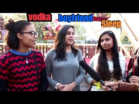2017 | Trolling Delhi Girls on New Year Plans | Resolutions | Public Reaction feat. Know Vicky