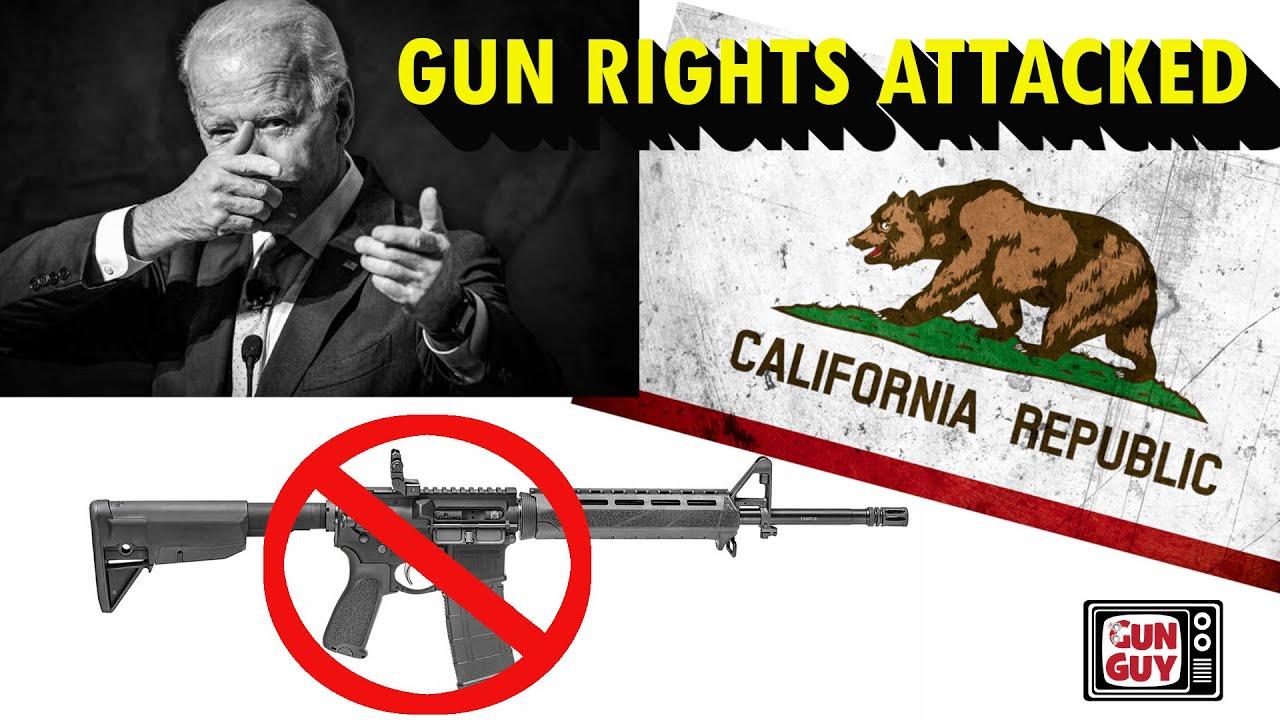 Biden Attacks Guns As 9th Circuit Argues - Interview with Chuck Michel