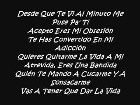 Don Omar Ft. Zion & Lennox - Ella Ella [Original] [Con Letra] ★REGGAETON 2010★