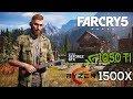 Far Cry 5 on Ryzen 1500X & Nvidia GTX1050 Ti