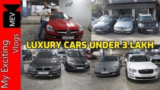 LUXURY CARS AT 3 LAKH (MERCEDES BENZ SLK, C CLASS, E CLASS, AUDI, BMW, MINI COOPER) SPEEDY TOYZ