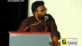 Director Ram talks about Thanga Meengal