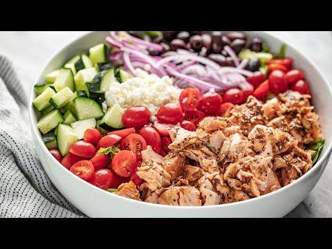 How to Make Easy Balsamic Salmon Salad