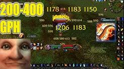 200-400 GPH Zul Gurub Mage AoE Farm and Boost (feat. Blade of Eternal Darkness) - Jokerd