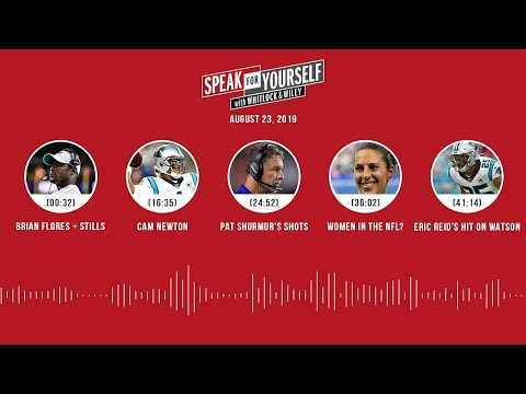 SPEAK FOR YOURSELF Audio Podcast (8.23.19) with Marcellus Wiley, Jason Whitlock | SPEAK FOR YOURSELF