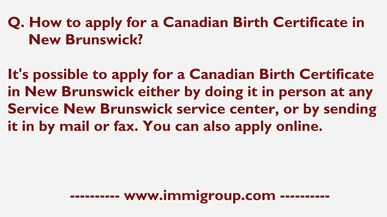 How to apply for a canadian birth certificate in new brunswick how to apply for a canadian birth certificate in new brunswick aiddatafo Images