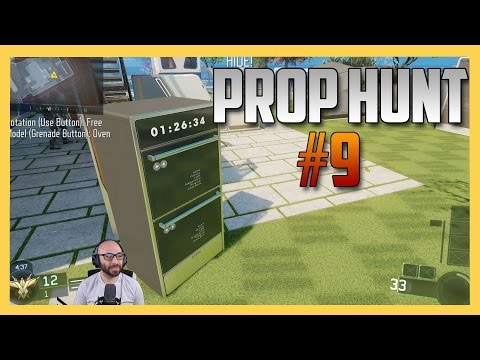 Prop Hunt #9 in Black ops 3! - I really shouldn't stream this game.