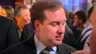 Philadelphia 76ers GM Sam Hinkie at the 2014 NBA Draft Lottery