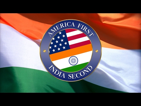 Thumbnail: America First, India Second [Official] - Welcome President Trump #EverySecondCountsEU