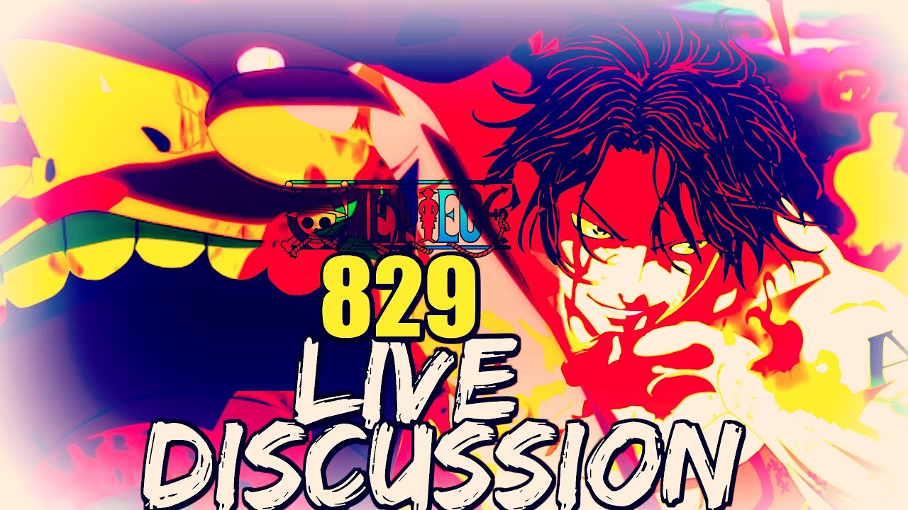One Piece Chapter 829 Live Discussion | Can Big Mom Bring Back Ace?!! |  Jack Vs. Marco Part 2 | OP!