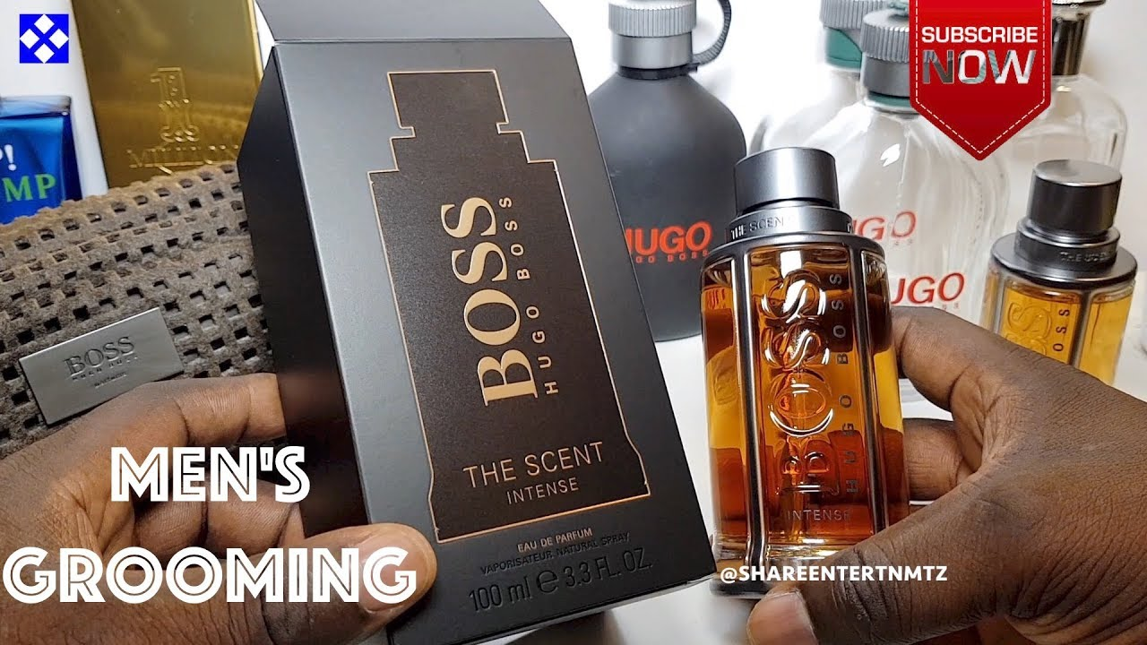Hugo Boss The Scent Intense Eau De Parfum For Him Unboxing Youtube