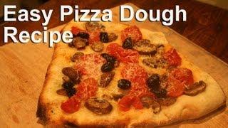 Easy Pizza Dough Recipe : Gardenfork.tv