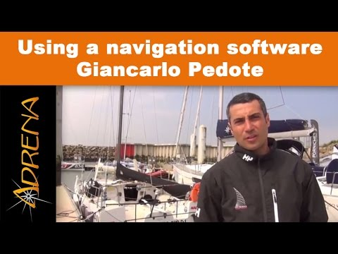 Using a navigation software by Giancarlo Pedote