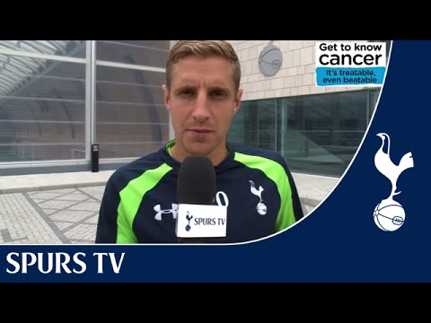 Michael Dawson supports NHS 'Get to know cancer' campaign