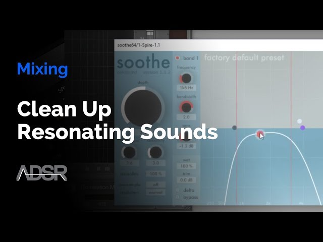 Clean Up Resonating Sounds With Oeksound Soothe