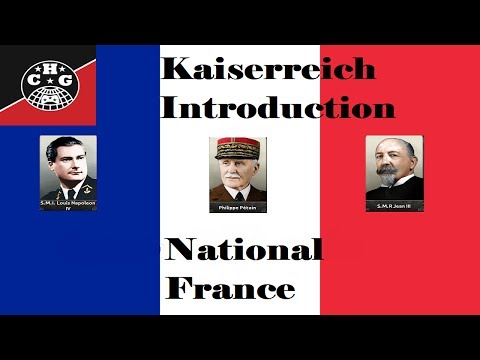 (HD version) Introductory Guide to National France (The French Republic) in Kaiserreich (HD Version)