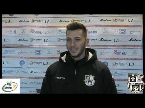 Ciserano-Virtus Bergamo 1909 1-2, 13° giornata d'andata Serie D Girone B 2018/2019