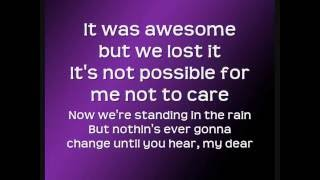 Miley Cyrus- 7 Things (With Lyrics)