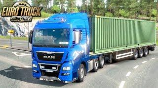 Podróż po Finlandii - Euro Truck Simulator 2 | (#27)