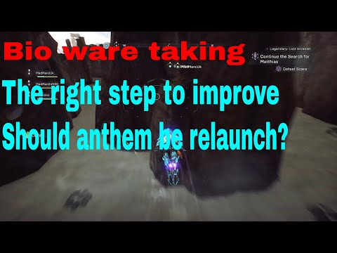 will anthem have matchmaking