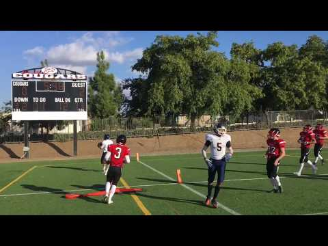 Los Angeles Christian School LCA football vs Corona Crossroads Christian School