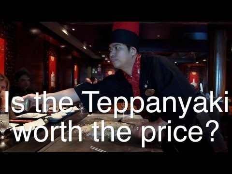 Teppanyaki Restaurant of Norwegian Cruise Line