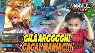 Download GAGAL MANIAC ANJIR! PAKAI FANNY MUSUHNYA AUTO NYERAH POKOKNYA WKWK! - MOBILE LEGENDS INDONESIA