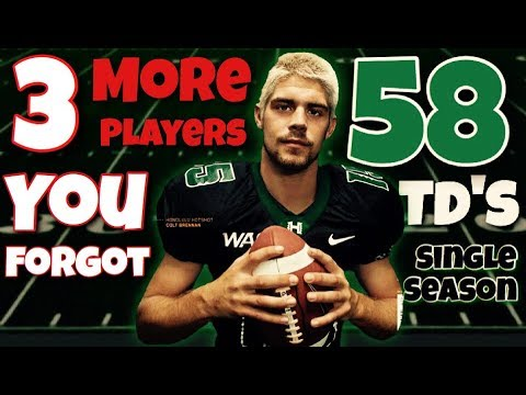3 More College Football Stars You COMPLETELY FORGOT
