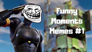 Fortnite - Vicces Jelenetek\Mémek Összeállítás #1