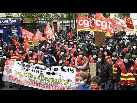 شاهد: احتفالات واحتجاجات واعتقالات بمناسبة إحياء اليوم العالمي للعمال…  - 18:58-2021 / 5 / 1