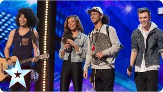 Luminites the now ex buskers sing