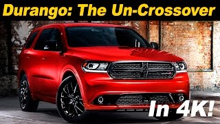 2017 Dodge Durango Review and Road Test - DETAILED in 4K UHD!