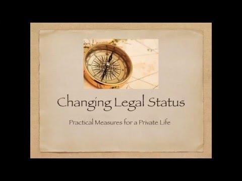 Changing Legal Status