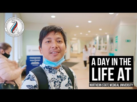 A Day in the Life of a Medical Student in Russia | Northern State Medical University