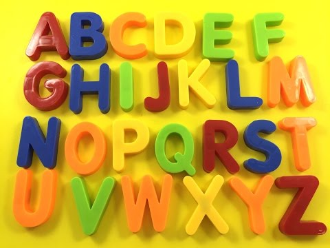 Let's learn ENGLISH ALPHABETS -Preschool learning-Kids abc activity