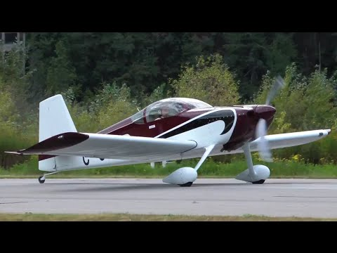 Van's RV-7 Takeoff