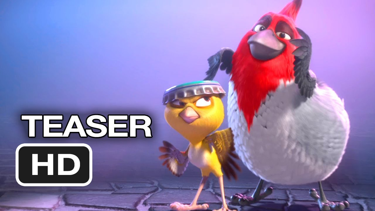 How To Make Animated Wallpaper Rio 2 Official Teaser Trailer 1 2014 Jesse Eisenberg