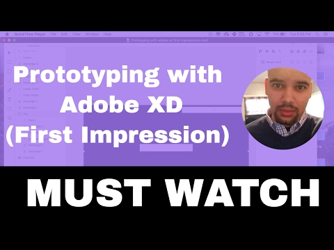 How web developers prototype websites with Adobe XD