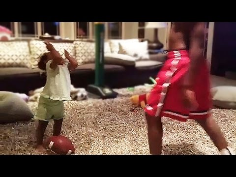 LeBron James' Daughter Zhuri Already Knows How To Flop
