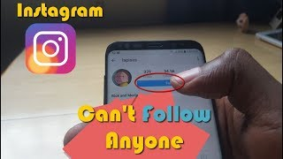Can't follow people on Instagram fix -3 solutions