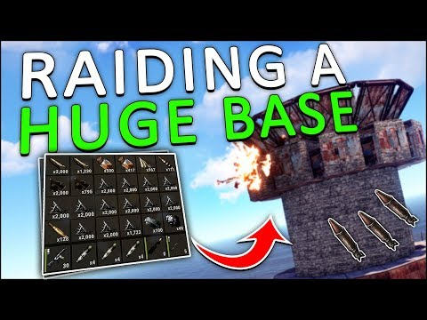 ROCKET-RAIDING a HUGE BASE with my MINICOPTER! - Rust Solo #10 thumbnail
