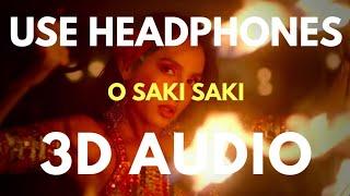 O SAKI SAKI (3D AUDIO) | Virtual 3D Audio
