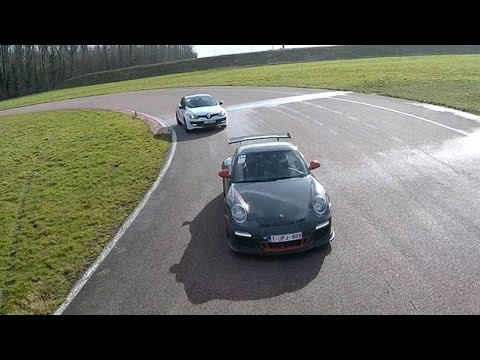 DRONECTRL | Once upon a track day in France.