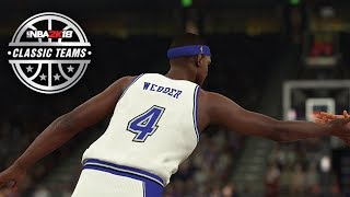 NBA 2K18 4 New Classic Teams! 02 Kings, Rudy Gobert Rating!