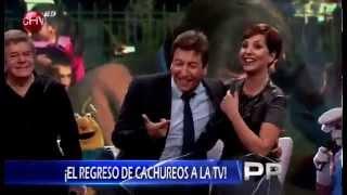 Cachureos regresa a la TV y lo hace cantando sus mejores éxitos en Primer Plano