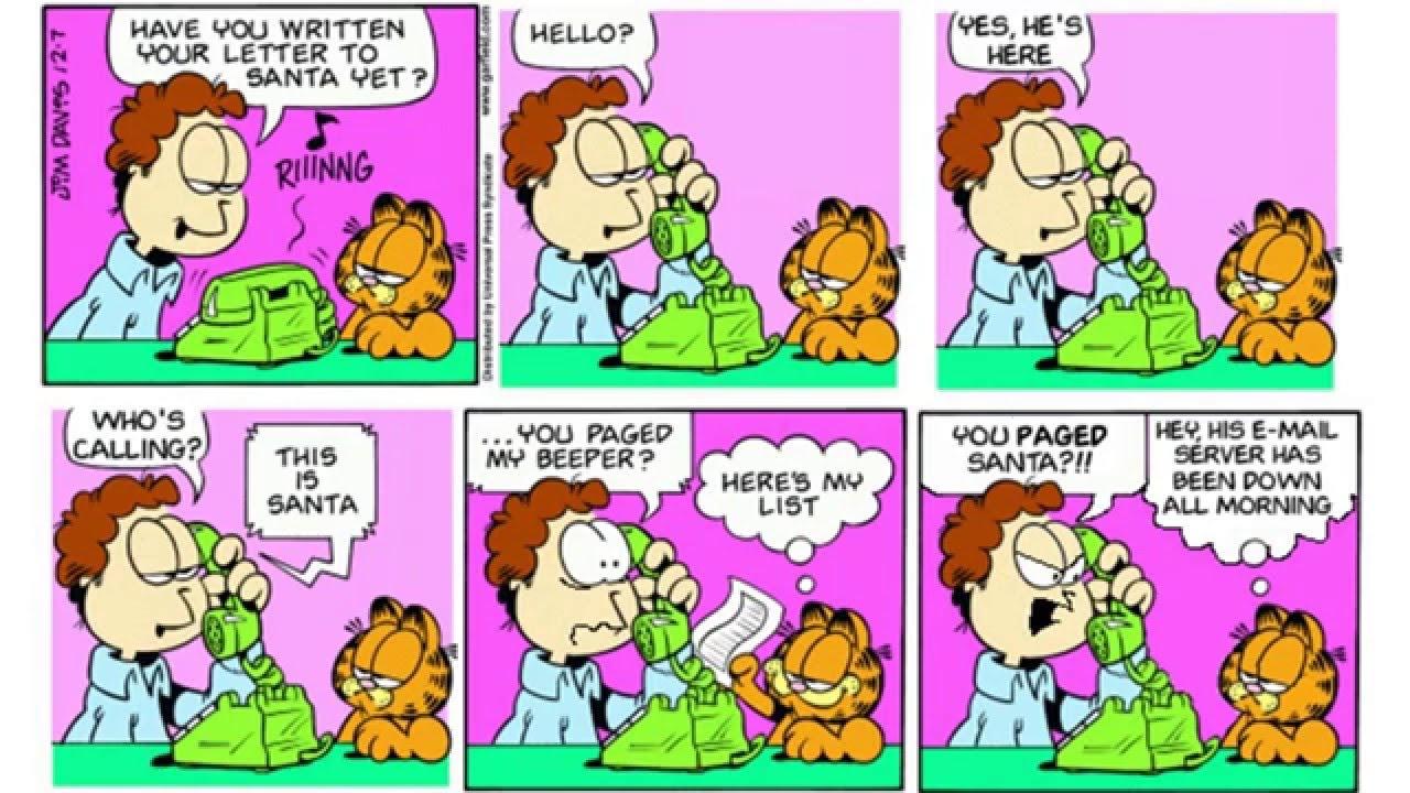 Christmas Comics.Garfield Comics Christmas Youtube