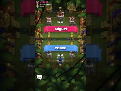 Nice Comeback in Clash Royal