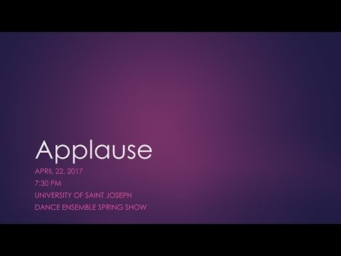 USJ Spring Show 2017: Applause