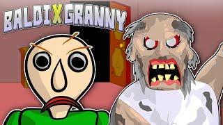 GRANNY THE HORROR GAME ANIMATION #1 Baldi VS Granny (Parody)