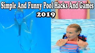 12 Most Simple And Funny Pool Hacks And Games and Pool Pranks